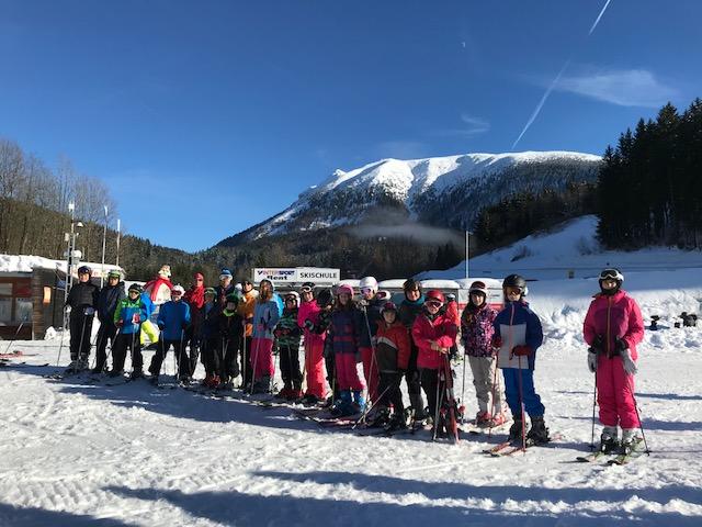Téli tanulmányi kirándulás Ausztriába