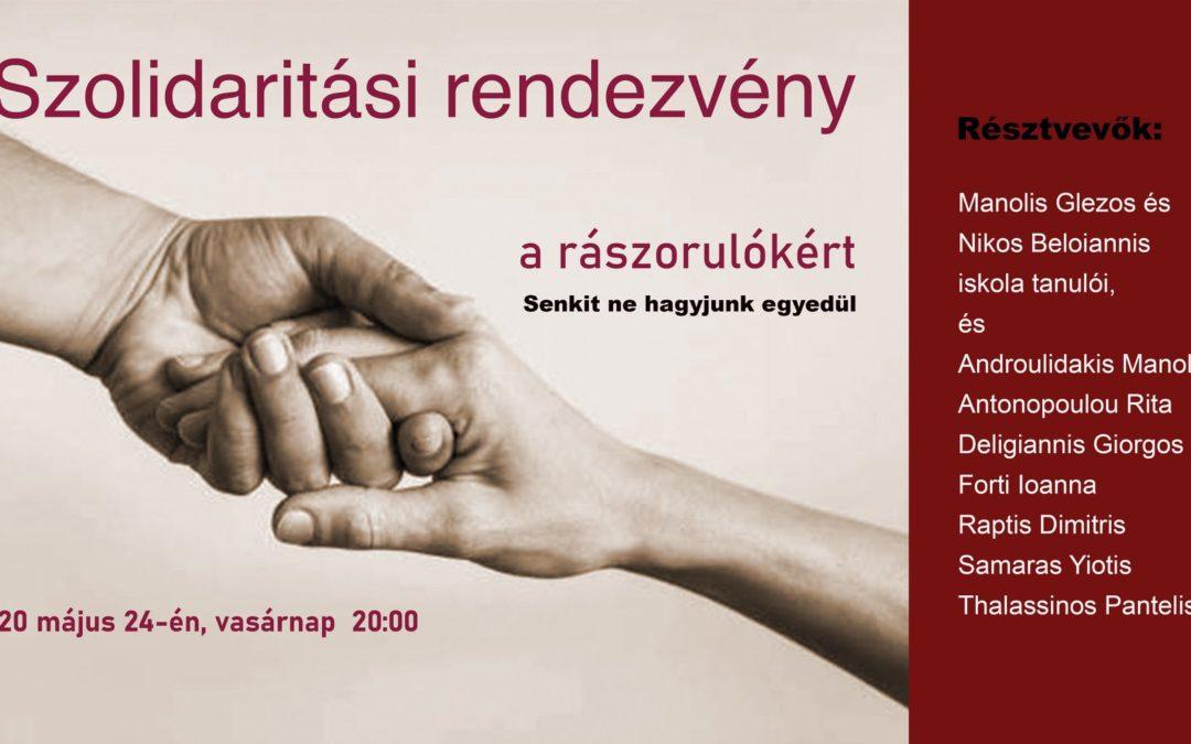 Szolidaritási rendezvény